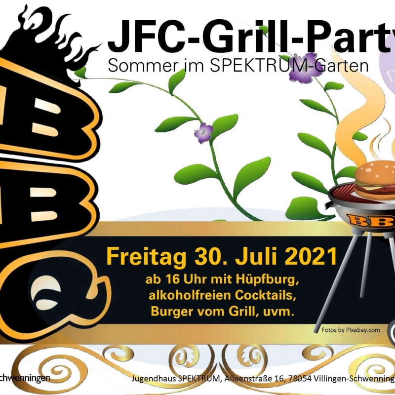 Grill Party 30.7.21