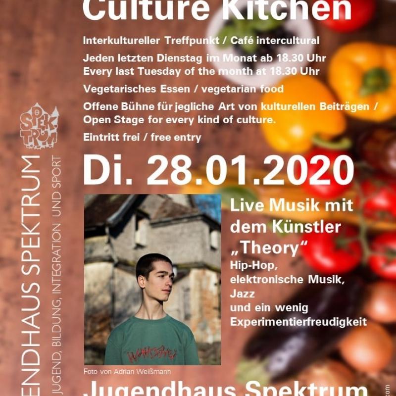 Plakat Kultur-Küche 28.01.2020