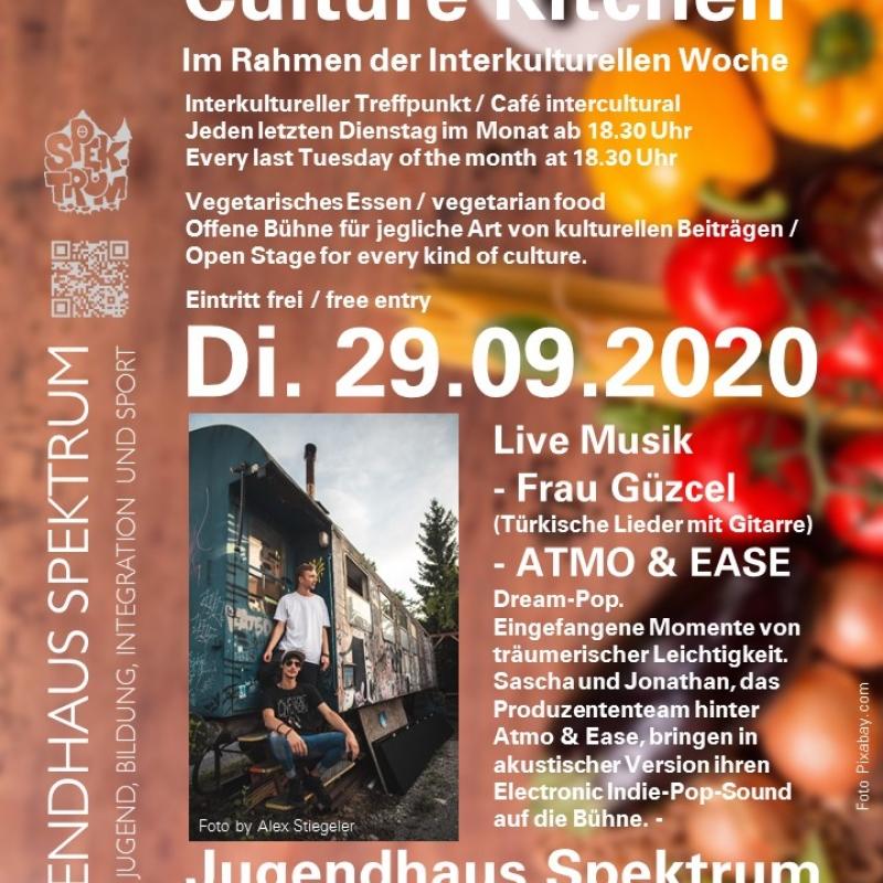 Plakat Kultur-Küche 29.09.2020