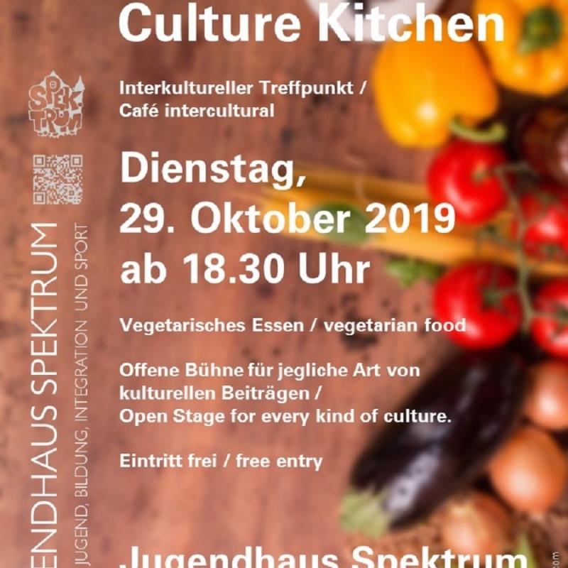 Plakat Kultur-Küche 29.10
