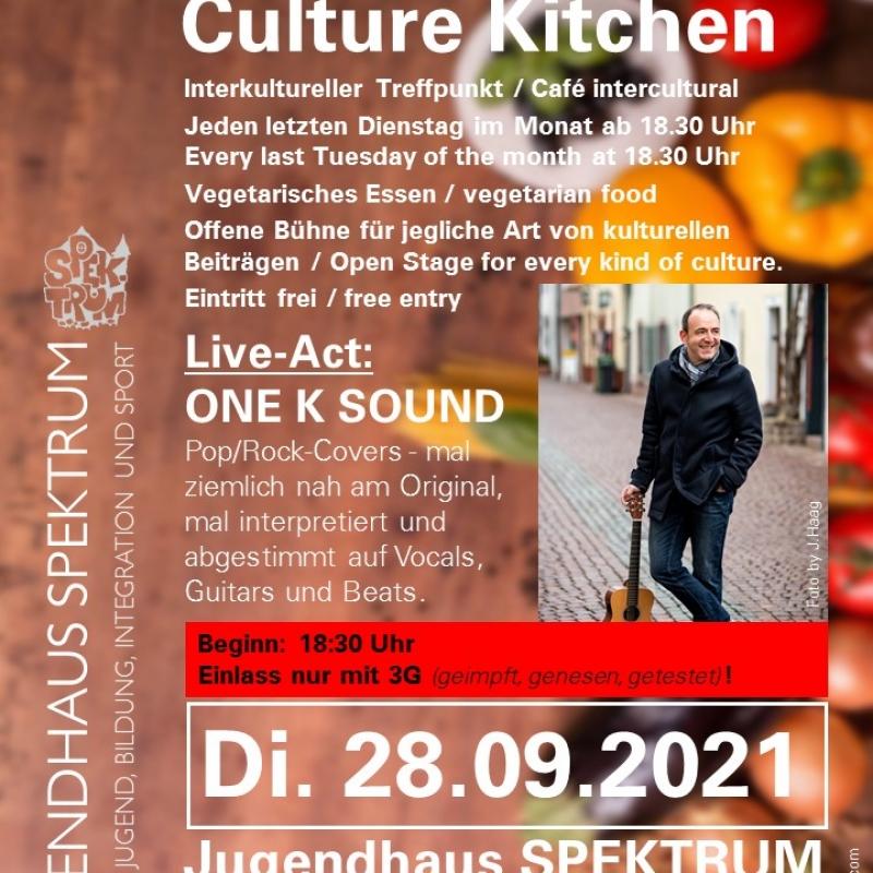Plakat Kultur-Küche 28.09.21